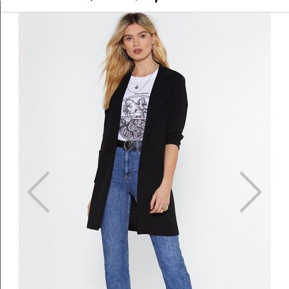 Nasty Gal Jackets & Blazers - Simple black blazer